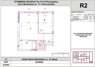 ZANATSKA RADIONICA 2- 37,99m2