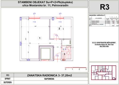 ZANATSKA RADIONICA 3- 37,20m2
