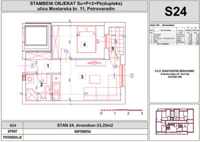 STAN 24, dvosoban-33,25m2