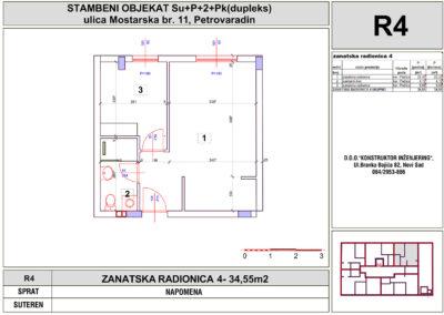 ZANATSKA RADIONICA 4- 34,55m2