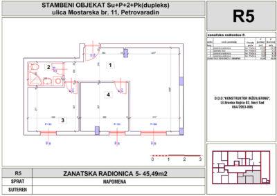 ZANATSKA RADIONICA 5- 45,49m2